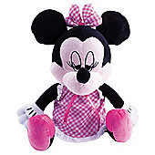Sleepy Minnie Mouse Animated Soft Toy