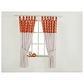 Tab Curtains CT Cotton Tail Red Kite