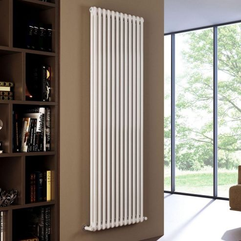 Modus 2 Column Italian Radiator 500mm High x 506mm Wide (11 Sections)