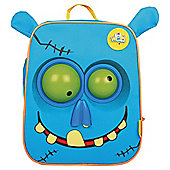 Wow Packs Electronic Kids' Backpack, Blue Snot The Zombie