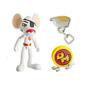 Danger Mouse 7.5cm Action Figure with Zipline