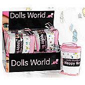 Dolls World Nappy Bag Fits 46cm Dolls
