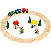 Bigjigs Rail BJT010 My First Train Set
