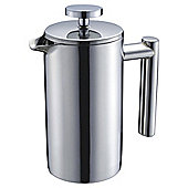 Tesco Double Walled Stainless Steel 3 Cup Cafetiere