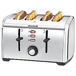 Breville VTT591 4 Slice Toaster Stainless Steel