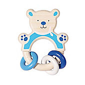 Heimess 763710 Wooden Ring Rattle (Bear)
