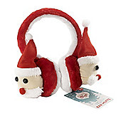 Festive Christmas Santa Ear Muffs
