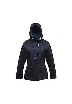 Regatta Ladies Heartsong Waterproof Jacket - Navy