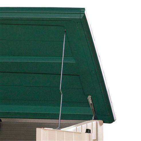 Keter Store It Out XL Plastic Garden Storage Box Green Beige 1300