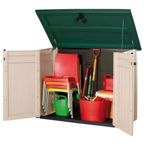 Buy Keter Store It Out Xl Plastic Garden Storage Box Green
