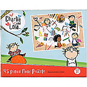 Charlie and Lola 45 Piece Medium Floor Jigsaw Puzzle