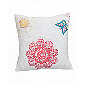 Daisy Floral Children's Quilted Cushion