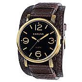Kahuna Gents Gents Cuff Strap Watch KUC-0054G