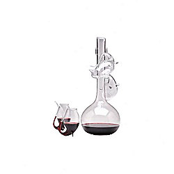 Bar Originale Port Decantus and Four Sipper Glasses Set