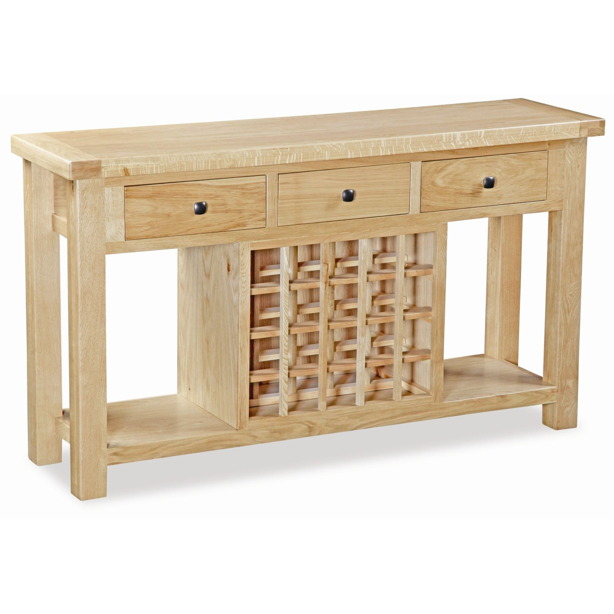 Alterton Furniture Chatsworth Console with Wine Rack at Tesco Direct