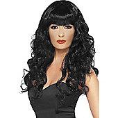 Siren Black Wig