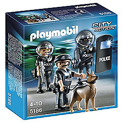 Playmobil Police Figure 5186