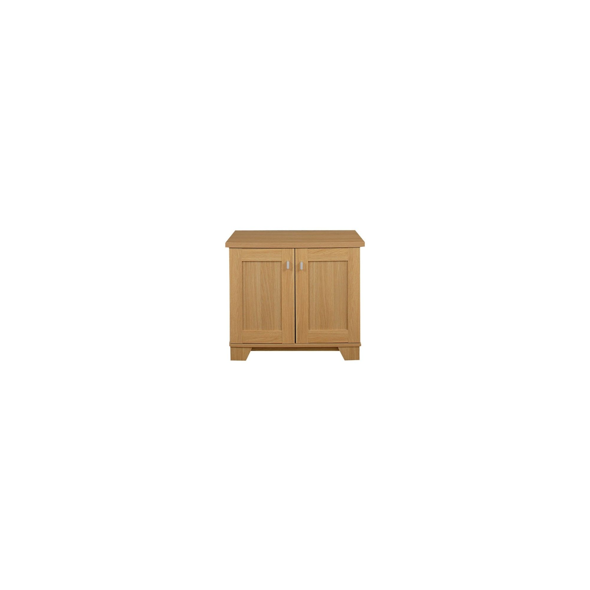 Caxton Sherwood 2 Door Sideboard Base in Natural Oak at Tescos Direct