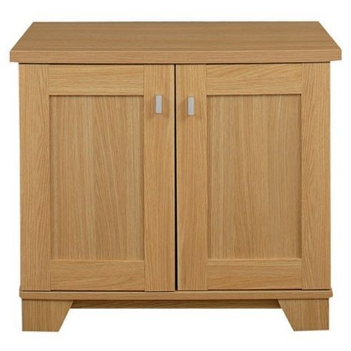 Caxton Sherwood 2 Door Sideboard Base in Natural Oak