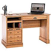 DSK Scribed Oak Home Office Desk