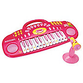Bontempi iGirl Electronic Keyboard with Sing Along Microphone