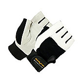 Bodymax Suede Weight Lifting Gloves - Large (L)