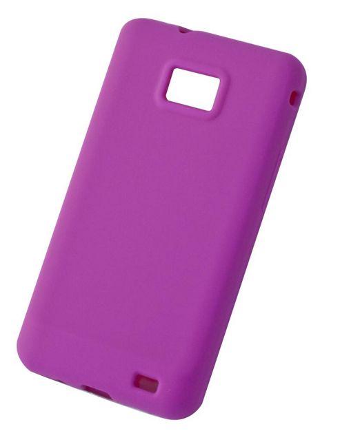 Tortoise™ Soft Silicone Case Samsung Galaxy SII Pink