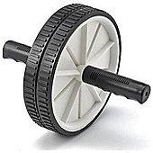 Tunturi Double Ab Roller - Ergonomic Handles