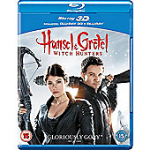 Hansel & Gretel Witch Hunters - Limited 3D Edition Blu-Ray