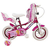 "Silverfox Pink Princess 12"" Kids' Bike"