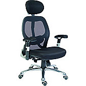 Modal Cobham Luxury Mesh Back Executive Chair - Black