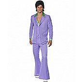 Lavender 1970's Suit - Medium
