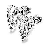 Lily & Lotty Sterling Silver 0.01ct Diamond NINA Earrings