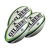 Gilbert Barbarian Match Rugby Balls, 3 pack, Size 5