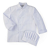 KidKraft Chef's Jacket and Chef's Hat Set - Medium