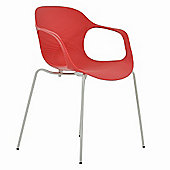 Stolgo Arms Dining Office Chair Red
