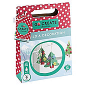 Go Create Christmas 3D Mini Foam Decorations