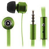 KitSound Ribbons In-Ear Headphones - Green
