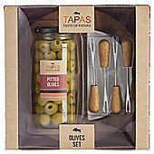 Gourmet Tapas Olive Server