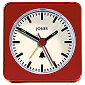 Jones & Co Sleep Alarm Clock Red