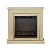 Adam Hampton Fireplace Suite in Stone Effect