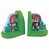 Elmer Wooden Bookends