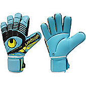 Uhlsport Eliminator Absolutgrip Goalkeeper Gloves - Blue