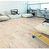 Westco 7mm V-Groove Riffel Oak White Laminate Flooring - 2.48m2