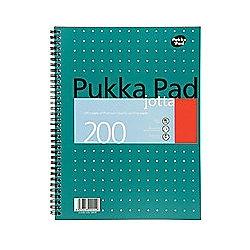 Pukka Pad A4 Jotta Metallic Writing Pad 80gsm JM018 Pack of 3