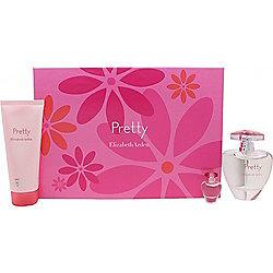 Elizabeth Arden Pretty Gift Set 100ml EDP + 100ml Body Lotion + 5ml EDP Mini For Women