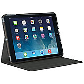 Logitech Big Bang Impact Protective Thin and Light Case (Forged Graphite) for iPad Air