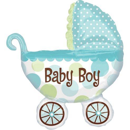 31' Baby Buggy Boy Supershape (each)