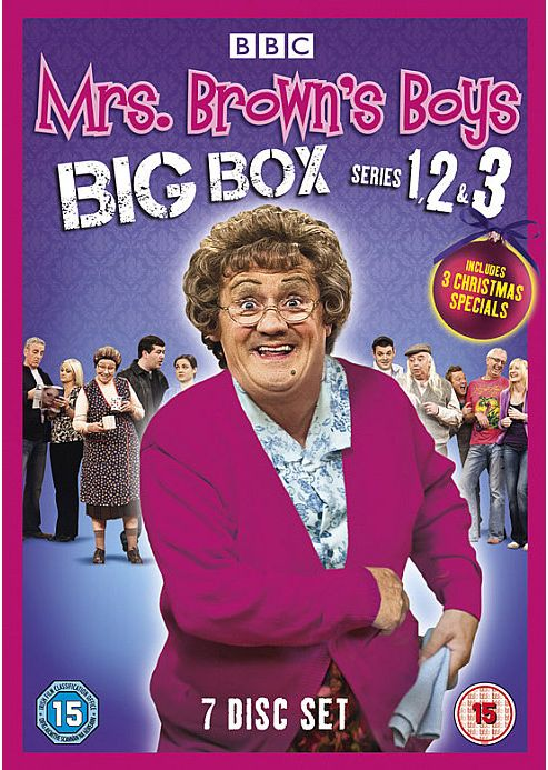 Mrs Brown'S Boys Tv Boxset S1, S2, S3 & Xmas Specials (DVD Boxset)