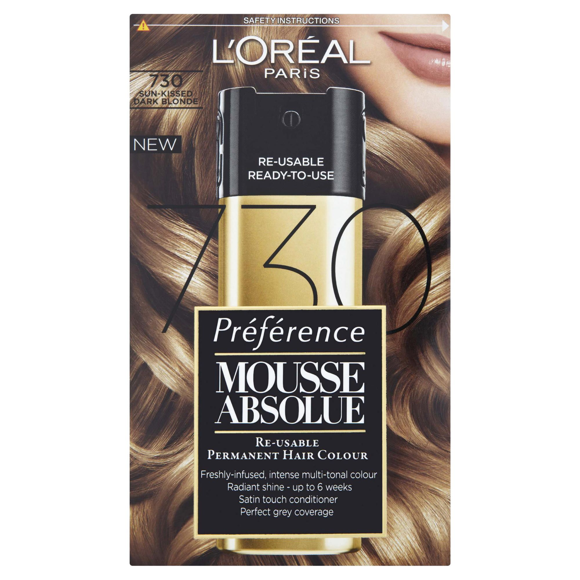 L'Oreal  Mousse Absolue Sunkissed Dark Blonde 730